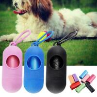 1Pcs Pet Dispenser Waste Poop Dog Puppy Pick-Up Bags Garbage D5Q7 Cleaning L9Q5