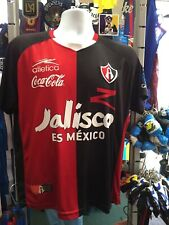 Atlética Atlas Home Black Red Yellow 09-10 Soccer Jersey Size M Men's Only