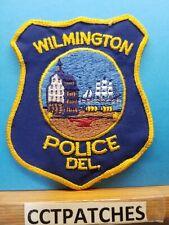 WILMINGTON, DELAWARE POLICE SHOULDER PATCH