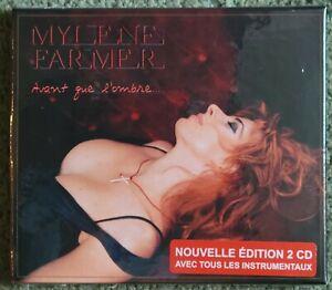 Mylene Farmer Avant Que L'Ombre 2021 Release [2 CD Box Set] Brand New