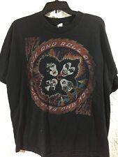 Mens Kiss Concert T Shirt Xl Rock And Roll Over Tour B15