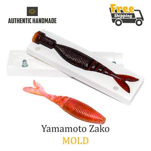 Bait Mold Yamamoto Zako Fishing Lure Shad Soft Plastic 102 mm