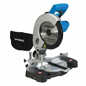 High Performance 1400W Compound Mitre Saw 210mm Chop Saws Corded Warranty