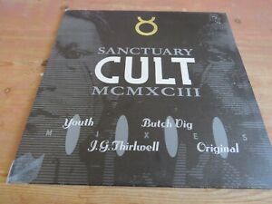 """THE CULT - SHE SELLS SANCTUARY MCMXCIII. 1993  4 MIX 12"""" IN PIC SLVE. BEG263T"""