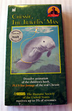 Chessie, The Travelin' Man ~ NEW VHS Movie ~ Kids Book Video ~ Traveling Manatee