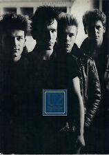 U2 Portfolio rare sheet music songbook
