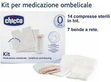 CHICCO KIT MEDICAZIONE OMBELICALE MEDIBABY NUOVO