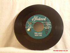 FREDDY KING-c-(45)-HIDE AWAY / I LOVE THE WOMAN - FEDERAL RECORDS - 12401 - 1961