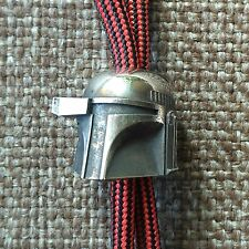 "Collectible Solid Bead ""Boba Fett"" Knife Paracord Lanyard ,Handmade, Star Wars"