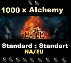 1000 Orb of Alchemy - STANDARD STANDART League Path of Exile POE Softcore alch