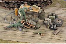 Verlinden 1/35 VP 2781 US Feldwerkstatt mit Zubehör und 2 Mechanikern