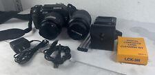 Olympus E-300 E-VOLT 8MP Digital DSLR Camera Kit 14-45mm 40-150mm Lenses + Xtras