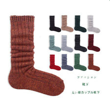 Knitted Womens Winter Thick Thermal Socks Soft Cotton Ladies Long Boots Sock Sox
