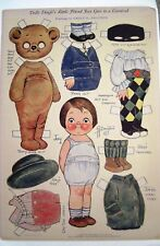 "1927 ""Dolly Dingle"" Paper Doll by G.G. Drayton -Friend Joey Goes to a Carnival*"
