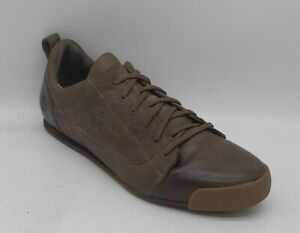 Womens TIMBERLAND Size 5.5 UK 7.5US Brown Leather Trainers/Sneakers Laced  EUC