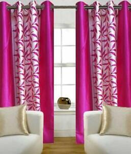 Modern Floral Print Curtain Drapes For Living Room Window Home Garden Door Decor