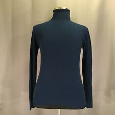 VTG Turtleneck Sweater Ban-Lon Kmart Navy Blue Small Nylon  Long sleeve 60s 70s