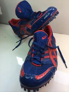 UK 7.5 Asics GN -501 Running Spikes ,Good Cond, Couple Of Spikes To Replace ,