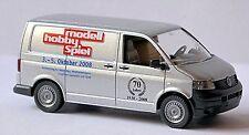 VW Volkswagen T5 Bac 2003-09 - 1:87 argent argent métallique Wiking 0309 03