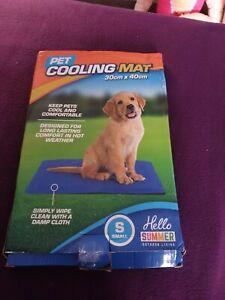 Small pet cooling mat