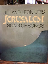 Leon Uris JERUSALEM signed by author, photographer to Milton Berle plus 20 more