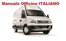 IVECO DAILY 4 Serie mk4 (2006/2014) MANUALE OFFICINA Riparazione ITALIANO