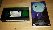 E t the extra terrestrial VHS TAPE