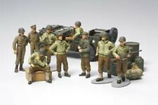 Tamiya 1/48  WWII US Army Infantry & Jeep -32552 Military Model Kit