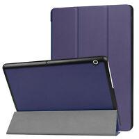für HUAWEI MediaPad T3 10 9,6 Smart Case Klapptasche aufstellbare Hülle PU-Leder