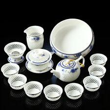 Porcelain tea set in Chinese blue-and-white porcelain tea sets tea pot cups tea5