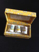 Muffy Vander Bear collection, 3 collectors thimbles.