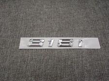 Chrome Trunk Number Letters Emblem Emblems Badge Badges Sticker for BMW 316i