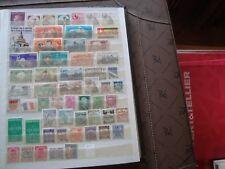 MONDE - 56 stamps nsg stamp