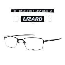 a04c926582 Oakley LIZARD OX5113-0154 Satin Black Titanium 54 18 135 Eyeglasses Rx -