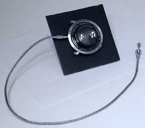 Vintage Carl Zeiss Jena Tessar 105mm Lens F.Deckel-Munchen Shutter Release Cable