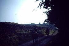 Vintage Kodak Kodachrome Slide Negative Horse Riding Near Lake Windermere 1978
