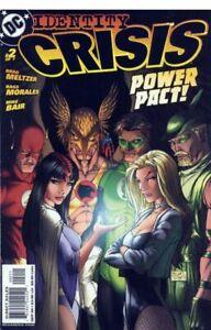 IDENTITY CRISIS #2A, 1st Printing (2004), NM, JLA, Michael Turner Cover