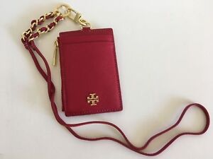 NWT TORY BURCH  EMERSON LANYARD / KIR ROYAL RED FREE SHIPPING  35% OFF LIST!