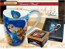 "Carmani Painters ""Venice Mask"" Tea or Coffee Cup, Alex Levin Collection"