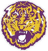 "LSU Louisiana State Tigers NCAA Color Decal Sticker - New You Pick Size 2""-28"""