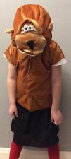 Fancy Dress Kids Monkey Costume Tabard & Headpiece (2 Sizes) Instant Dress Up