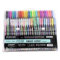 Gel Pens Set 48 pcs Glitter Metallic Colors Pens for Coloring  Painting Drawing