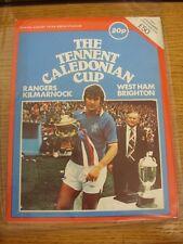 03/08/1979 L'inquilino CALEDONIAN Cup: programma ufficiale, ad Ibrox 3rd & 5th AGOSTO
