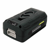 Snow Joe + Sun Joe iONMAX EcoSharp® Pro Lithium-Ion Battery | 40 Volt | 5.0 Ah