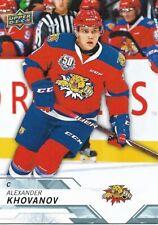 Alexander Khovanov #43 - 2018-19 CHL - Base - Moncton Wildcats