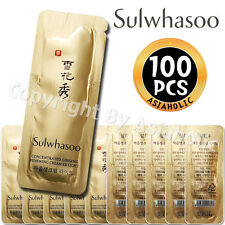 Sulwhasoo Concentrated Ginseng Renewing Cream Ex Light 1ml x 100pcs (100ml) New