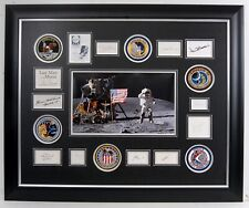 More details for apollo moonwalkers 12 signed framed montage - inc neil armstrong (aftal rd) coa