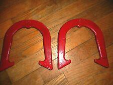 Vintage Red Henton V LOK pitching Horseshoes