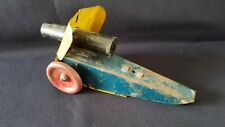 Vintage 1940-50's Manoil Barclay Metal Toy Cannon