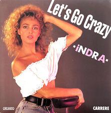 "Indra 7"" Let's Go Crazy - France (EX+/EX+)"